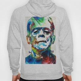Frankenstein Art - Colorful Monster - By Sharon Cummings Hoody