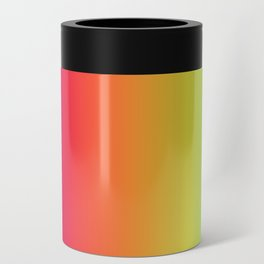 rainbow abstract Can Cooler