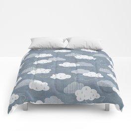 RAIN CLOUDS Comforters