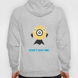 Don't Eat Me Vegan Fishie Art Hoody