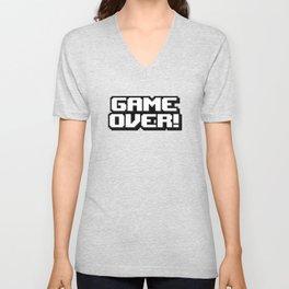 GAME OVER! Unisex V-Neck