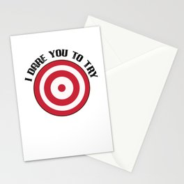 Dodgeball I Dare You to Throw It Stationery Cards