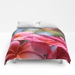 He Pua Lahaole Ulu Wehi Aloha Comforters