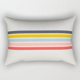 Retro Summer Vibe Rectangular Pillow