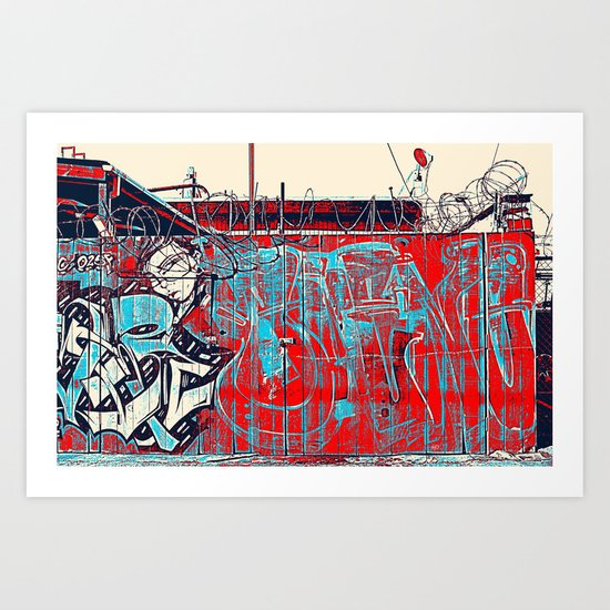 Totally Wired Art Print