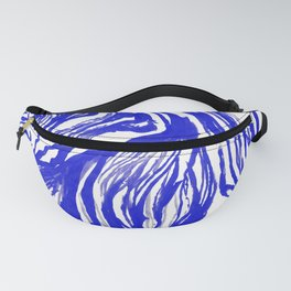 Marbled Royal Fanny Pack