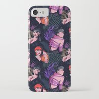 grimes iPhone & iPod Cases featuring Grimes repeat by Helen Green