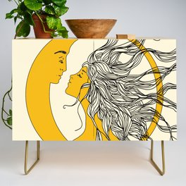 Sun and Moon Credenza