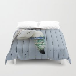 Amagansett Buoys Duvet Cover