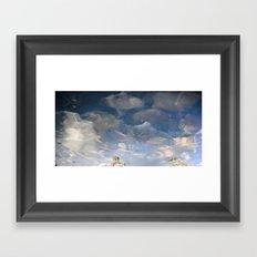 Semiotic Sky  Framed Art Print