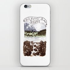 Feel Yourself At Home iPhone & iPod Skin