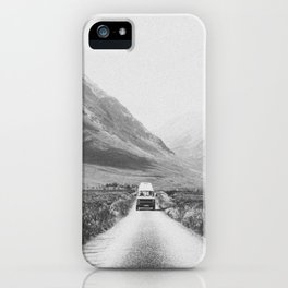 ON THE ROAD XXV / Scotland iPhone Case