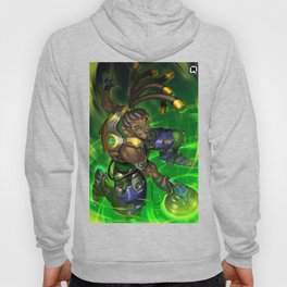 over lucio watch Hoody