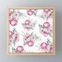 hurry spring Framed Mini Art Print