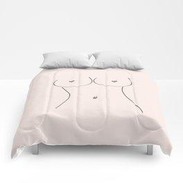 Free Love Pink Comforters