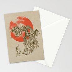 Junkyard Dragon  Stationery Cards