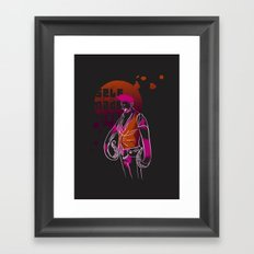Self made man Framed Art Print