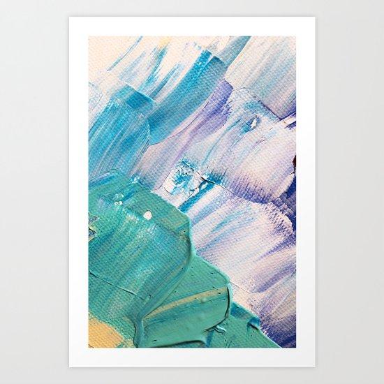 Wasser 2 Art Print