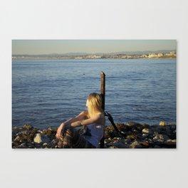 LA beaches Canvas Print