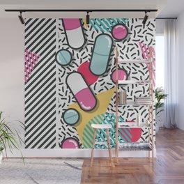 Pills pattern 018 Wall Mural