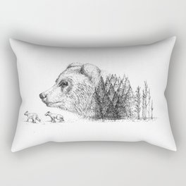 MOTHER OF THE FOREST Rectangular Pillow