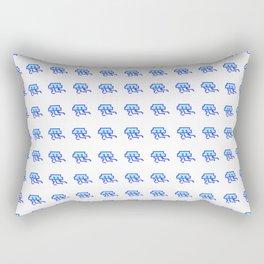 8Bit Jellies Rectangular Pillow