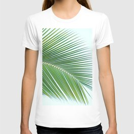 Palm leaf - greenery T-shirt