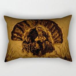 Turkey in The Straw DPPA150606 Rectangular Pillow