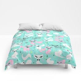 Swanky Kittens Comforters