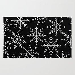 Give Me a Black & White Christmas - 3 Rug