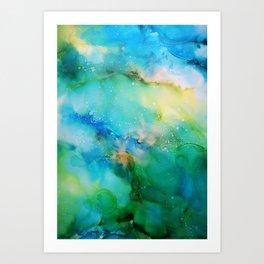 Blellow Art Print