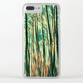 tree of paint Clear iPhone Case
