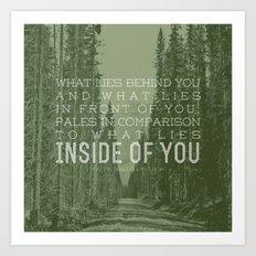 Inside of You Art Print