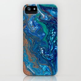 Mermaid Marble iPhone Case