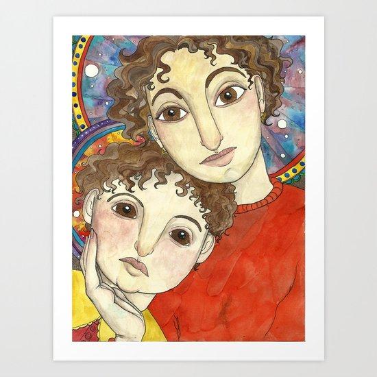 Saints Art Print
