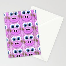 Dirty Little Piggies Stationery Cards