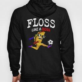 floss like a boss  funny mustache taco floss dance Hoody