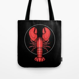Divine Ascent of the Dominance Hierarchy Lobster Tote Bag