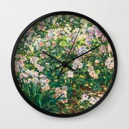 Windflowers Wall Clock