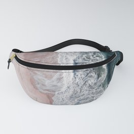 Crashing waves Fanny Pack