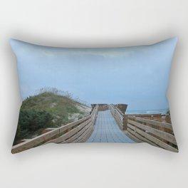 Dreary Days and Getaways Rectangular Pillow