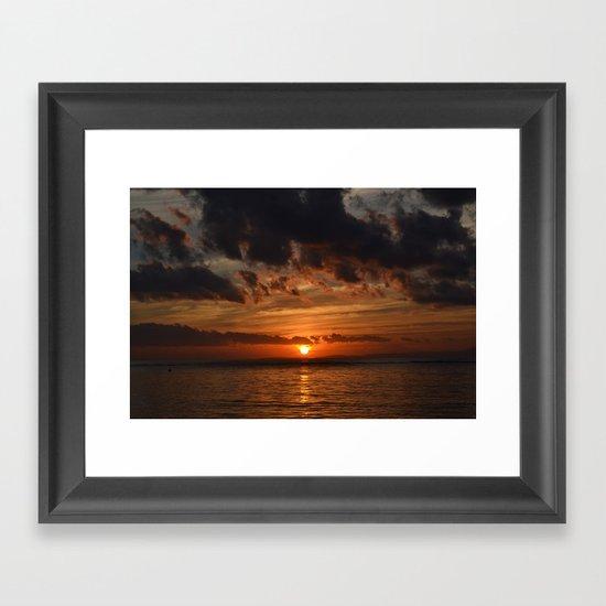 Before the Dawn Framed Art Print