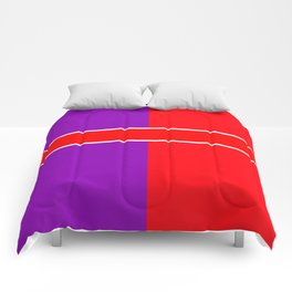 Team Color 6...red,purple Comforters