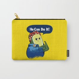 Vegan do It Avocado Carry-All Pouch