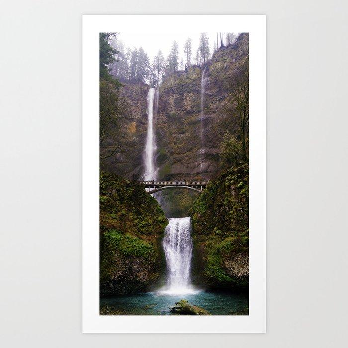 Rainy Multnomah Art Print
