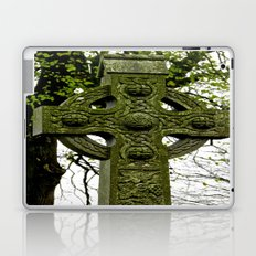 Celtic Cross at Monasterboice Laptop & iPad Skin