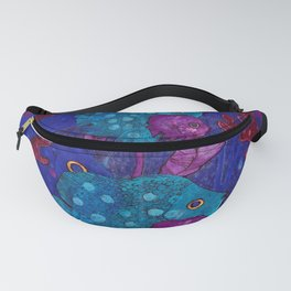 Fish Family in Seaweed Fanny Pack