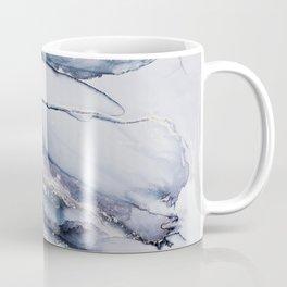 Alcohol Ink Liquid Marble Elegant Indie Art Home Decor Trend Coffee Mug