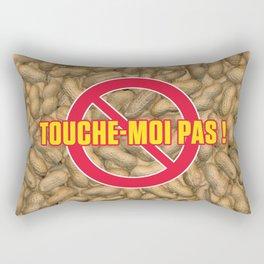 TOUCHE-MOI PAS ! Rectangular Pillow