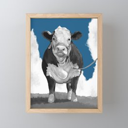 Welcome to the Pasture 2 Framed Mini Art Print